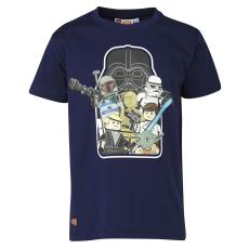 LEGO TRISTAN352-591-104 - LEGO Wear Star Wars Tristan 352 fiú sötétkék t-shirt 104-es méretben