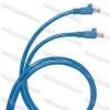 Legrand 051834 patch kábel RJ45-RJ45 Cat.6 árnyékolatlan (U/UTP) LSZH (LSOH) 3 méter kék d: 6mm AWG24 LCS3