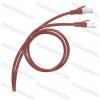 Legrand 051856 patch kábel RJ45-RJ45 Cat.6 árnyékolt (F/UTP) LSZH (LSOH) 3 méter piros d: 6mm AWG26 LCS3