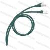 Legrand 051867 patch kábel RJ45-RJ45 Cat.6A árnyékolt (S/FTP) LSZH (LSOH) 2 méter zöld d: 6,2mm AWG27 LCS3