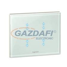 LEGRAND Céliane My Home multifunkciós érintős vezérlő, fehérüveg villanyszerelés