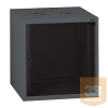 """LEGRAND fali rackszekrény 19"""" 18U, 890x600x600, antracit, egyrekeszes, üvegajtós, készre szerelet, max. 54 kg"""