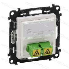 LEGRAND Legrand 753130 Valena Life SC/APC egymódusú optikai csatlakozóaljzat fehér villanyszerelés