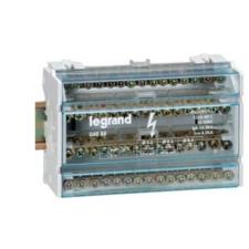 LEGRAND Lexic elosztóblokk 4P 40A 4x13 furat villanyszerelés