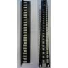 LEGRAND Linkeo patchpanel 24 modul, KEYSTONE UTP modulhoz, műanyag kábeltartóval 632791
