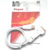 LEGRAND USB töltőkábel, 1m-es, 3 az 1-ben mini, micro, iPhone csatlakozóval, fehér 050683