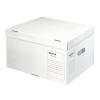 """Leitz Archiváló konténer, L méret, újrahasznosított karton,  """"Infinity"""", fehér"""