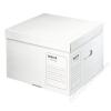 Leitz Archiváló konténer, M méret, újrahasznosított karton, LEITZ Infinity, fehér (E61030000)