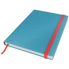 Leitz Beíró, B5, kockás, 80 lap, keményfedeles, LEITZ  Cosy Soft Touch , nyugodtkék füzet