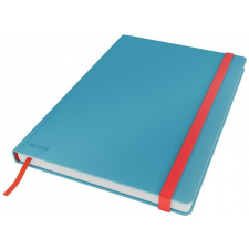 Leitz Beíró, B5, vonalas, 80 lap, keményfedeles, LEITZ  Cosy Soft Touch , nyugodtkék füzet