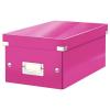 Leitz DVD-doboz -60420023- Pink CLICK&STORE LEITZ
