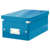 Leitz DVD-doboz -60420036- Kék CLICK&STORE LEITZ