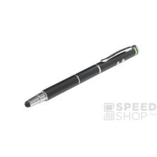 """Leitz Érintőtoll, érintőképernyős készülékekhez, 4-az-1-ben,  """"Stylus"""", fekete ceruza"""