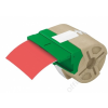 Leitz Etikett, folyamatos, műanyag, öntapadó, 88 mm x 10 m, LEITZ Icon piros (E70160025)