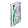Leitz Gyűrűs könyv, panorámás, 2 gyűrű, D alakú, 44 mm, A4 Maxi, PP, , fehér