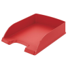 "Leitz Irattálca, műanyag,  ""Plus"", piros"