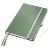 Leitz Jegyzetfüzet, A5, kockás, 80 lap, keményfedeles, LEITZ Style, olajfazöld (E44860053)