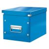 """Leitz Tároló doboz, lakkfényű, M méret, LEITZ """"Click&Store"""", kék"""