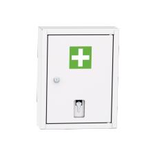 LEK 01 B fali gyógyszerszekrény vészkulcs tartóval bútor