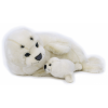 Lelly National Geographic Polar állatok 770820 Seal with baby - 42 cm