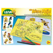 LENA Maja a méhecske rajzsablon kreatív és készségfejlesztő