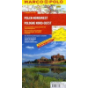 Lengyelország északnyugati rész térkép - Marco Polo