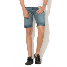 Levi's , Regular Fit 502™ Farmer bermuda nadrág, Kék, 30 (32792-0009-30)