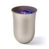 Lexon Oblio 10W Wireless charging station with built-in UV sanitizer Gold