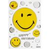 Leykam Alpina (BSB) BSB képeslap, smilek, Happy Birthday (állvány)