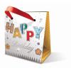 Leykam Alpina (BSB) BSB mini ajándéktasak (8x8x5 cm) Happy Birthday (állvány)