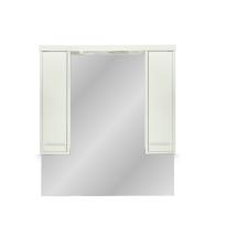 Leziter 105 cm-es Nerva, tükrös felsőszekrény, Rauna szil bútor