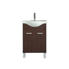 Leziter 55 cm-es Maxima, Nerva, Vita bútorhoz alsószekrény, mosdóval, Rauna szil bútor