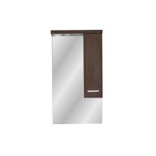 Leziter 55 cm-es Nerva, tükrös felsőszekrény, Tükörfényes fehér színben bútor