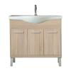 Leziter Nerva 85 cm-es bútorhoz alsószekrény, mosdóval, Sonoma tölgy
