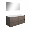 Leziter Porto Prime 120 komplett fürdőszoba bútor rauna szil színben