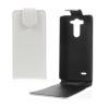 LG G3 S, Lenyitható bőrtok, ProFlip, felfelé nyíló - kinyitható, fehér