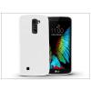 LG K10 K420N szilikon hátlap - Jelly Flash - fehér