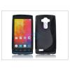 LG LG G4 H815 szilikon hátlap - S-Line - fekete