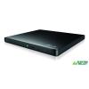 LG Slim DVD író külső fekete dobozos /GP57EB40/