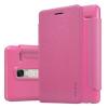 LG Zero / Class, Oldalra nyíló tok, Nillkin Sparkle, rózsaszín