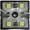 Life Light Led Led modul 5050 chip, 4 led, 13-56 Lumen, 12V, meleg fehér, IP65 vízálló,  Life Light Led