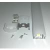 LifeLightLed Alusín szett IP65 vízálló, átlátszó takaróval 8-10 mm-es led szalaghoz! 2m sín+2 m tejes takaró+ 4 db rögzítő+ 2 db végzáró