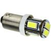 LifeLightLed Autós led BA9S helyzetjelző,index világítás, 6 led, 5630 chip,165 Lumen, 3W, hideg fehér