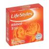 LifeStyles Ribbed 3 db redős felületű óvszer