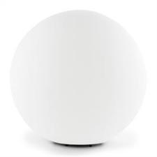 Lightcraft Shinestone L gömbölyű kültéri lámpa, 40cm, fehér kültéri világítás