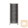 Linkbasic álló rack szekrény 19'' 42U 600x800mm szürke