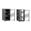 Linkbasic álló szekrény 19 27U 600x800mm fekete