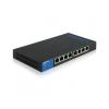 Linksys Gigabit Smart PoE Switch 8-port LGS308 (LGS308P-EU)