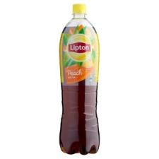 LIPTON Ice Tea őszibarack ízű szénsavmentes üdítőital cukorral és édesítőszerrel 1,5 l üdítő, ásványviz, gyümölcslé