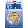 Liverpool mini térkép - A-Z
